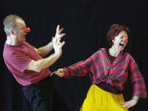 Humor Aufbaurkurs mit David Gilmore im TuT Schule für Tanz, Clown und Theater in Hannover